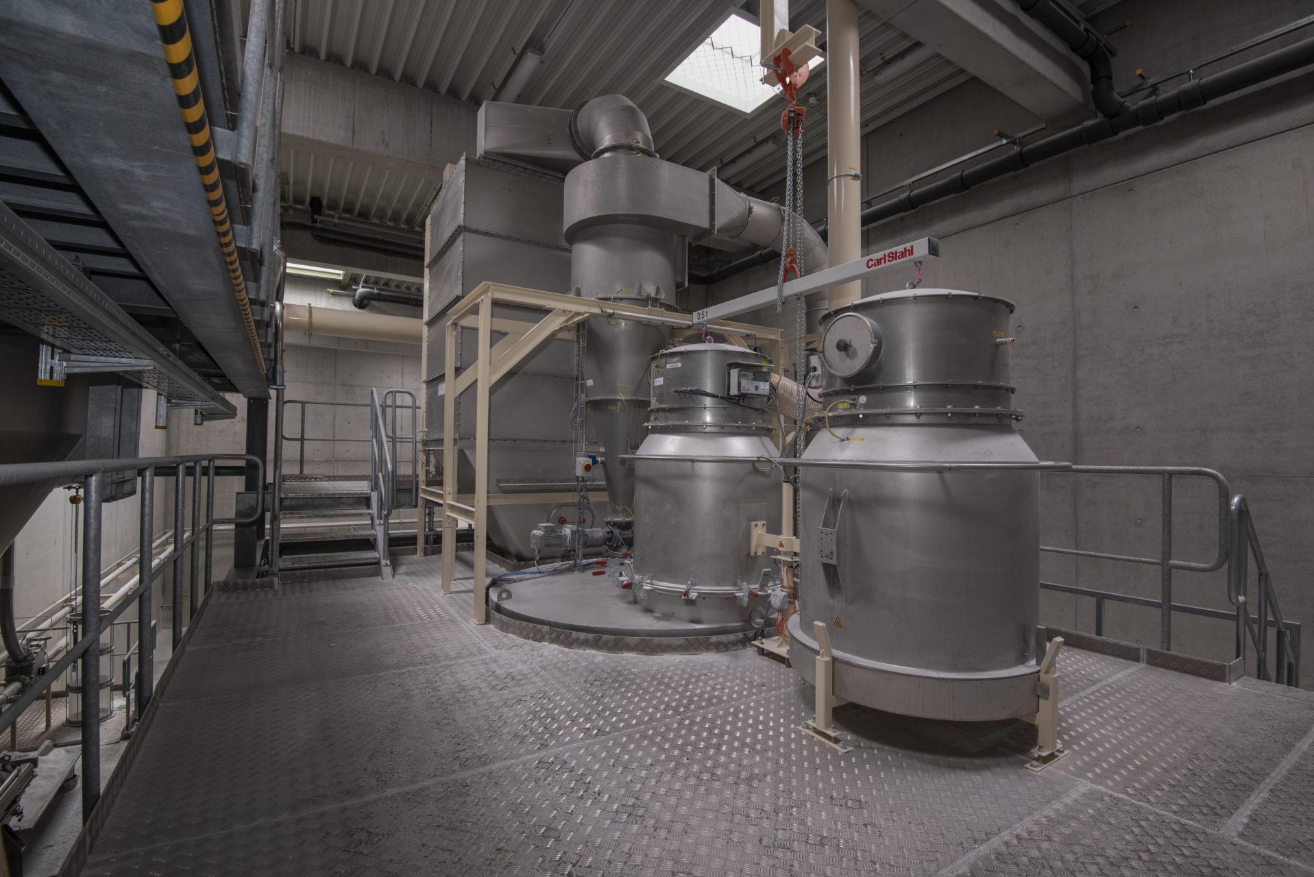Apparate Behaelter Anlagenmechanik Industrie Abscheidebehaelter Drehfilter Siloanlagen Befuellanlagen Endeco