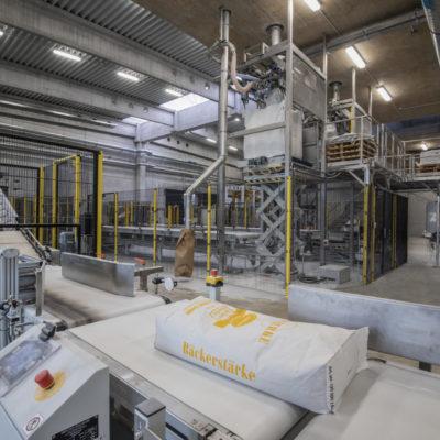 Big Bag Handling Befuellanlagen Rollenbahnsystem Industrieanlagen Anlagenmechanik Endeco