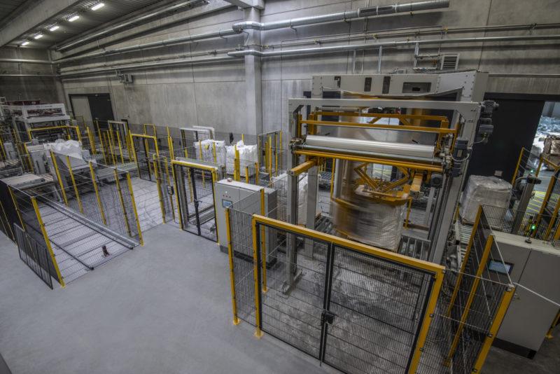 Big Bag Handling Wickelanlage Befuellanlagen Anlagenmechanik Endeco