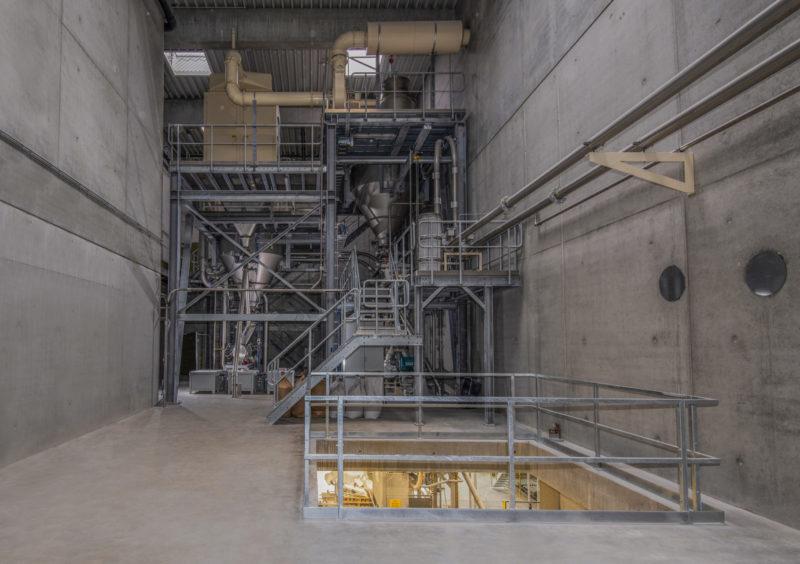 Pneumatische Foerderung Abscheideanlage Siloanlagen Sackbefuellanlagen Kontrollsystem Anlagenmechanik Endeco
