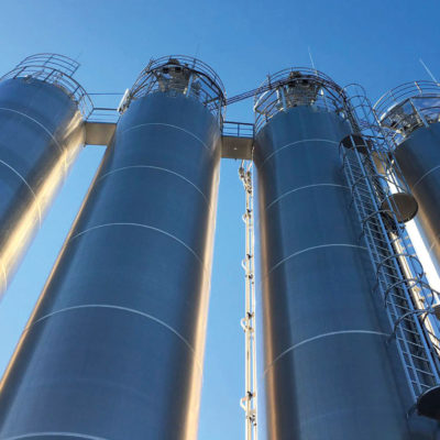Siloanlagen Hersteller Silohersteller Tankanlagen Silobehaelter Firma Anlagenbau Silos Schuettgut Foerdertechnik